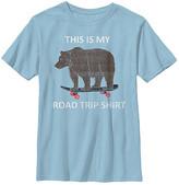 Chin Up Apparel Boys' Tee Shirts LT - Light Blue 'Road Trip Shirt' Crewneck Tee - Boys