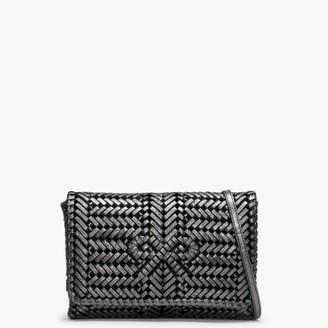 Anya Hindmarch Neeson Anthracite Woven Cross-Body Bag