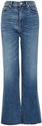SLVRLAKE Grace Blue Wide-leg Jeans