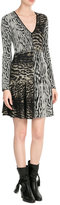 Roberto Cavalli Printed Knit Dress
