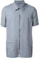 E. Tautz zip safari shirt - men - Wool - M