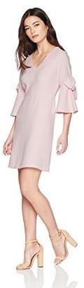 Brinker & Eliza Women's Sheath Dress with Bow Detail