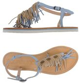 Rosamunda Toe post sandal