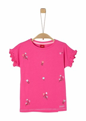 S'Oliver Girls' 403.10.004.12.130.2022561 T-Shirt