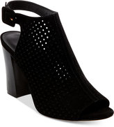 Madden-Girl Beckie Perforated Slingback Sandals