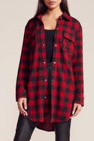 BB Dakota Buffalo Plaid Shirt-Coat