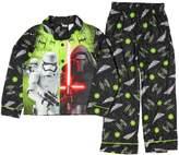 AIT Corporation Disney Star Wars KYLO REN Bounty Hunter Flannel Coat Pajama Set (4-5)
