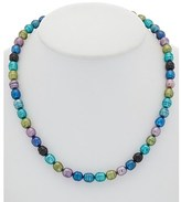Honora Silver 8-9mm Pearl Earrings, Bracelet, & Necklace Set.