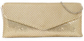 Jessica McClintock V Flap Mesh Ball Clutch