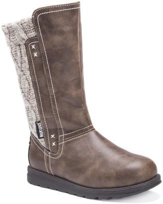 Muk Luks Women's Stacy Brown Fashion Boot