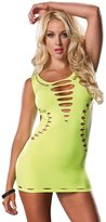 Leg Avenue Women's Seamless Cut Out Mini Dress