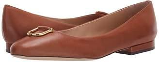 Lauren Ralph Lauren Galyn (Deep Saddle Tan Super Soft Leather) Women's Shoes