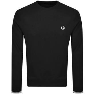 Fred Perry Crew Neck Sweatshirt Black