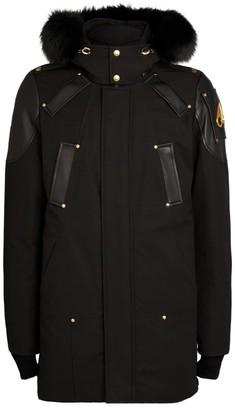 Moose Knuckles Gold Collection Capsule Fox Fur-Trimmed Parka Jacket
