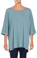 Eileen Fisher Solid Boatneck Tunic