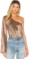 House Of Harlow x REVOLVE Ross Top in Metallic Gold