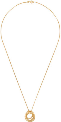 COMPLETEDWORKS Gold Flow Pendant Necklace