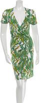 Issa Leaf Printed Dress