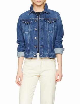 G Star Women's 3301 Fringe Slim Jacket Jacket Long Sleeve Jacket