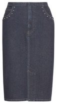 Sonia Rykiel Embellished Denim Skirt