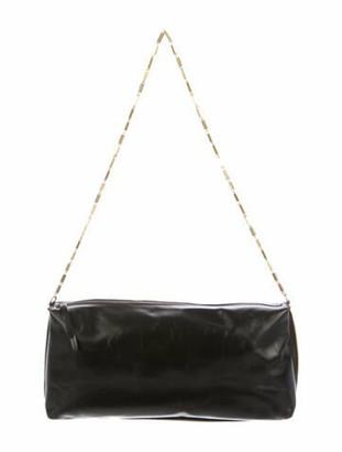 Dries Van Noten Leather Shoulder Bag Black