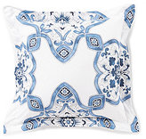 Southern Living Newcastle Floral Medallion Square Pillow