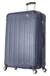"Dukap Intely 32"" Hardside Spinner Luggage With Integrated Weight Scale"