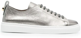 Henderson Baracco Round Toe Metallic Sneakers
