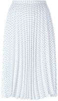 J.W.Anderson polka dot pleated skirt - women - Polyethylene/Acetate - 10