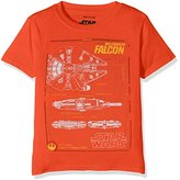 Star Wars Boy's Falcon Sleeveless T-Shirt