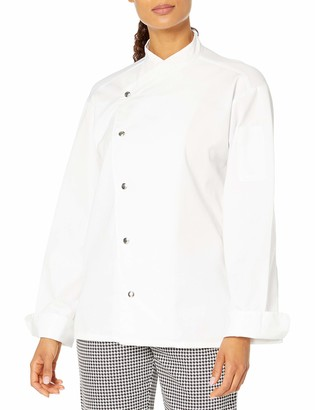 Uncommon Threads Unisex Caliente Chef Coat 5 Snap Mesh Back