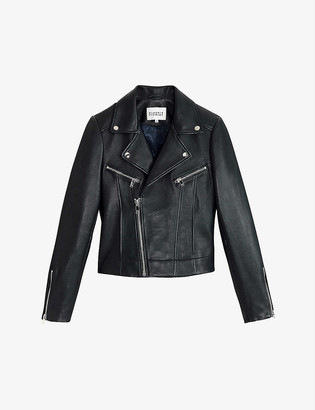 Claudie Pierlot Carissa leather jacket