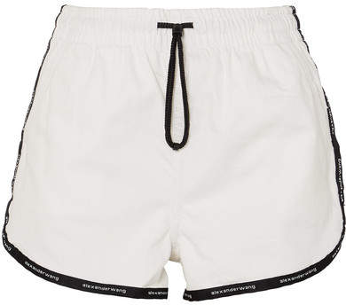 Alexander Wang Denim Shorts - White