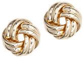 Anne Klein Goldtone Knot Stud Earrings