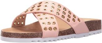 Qupid Women's Holt-04 Flat Sandal