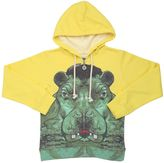 Madson Discount Hippo Hooded Cotton Blend Sweatshirt
