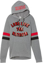 PINK Texas Tech University Crossover Pullover Hoodie