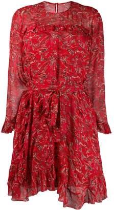 IRO long-sleeved printed dress