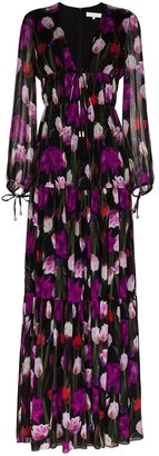 Borgo de Nor Freya tiered maxi dress