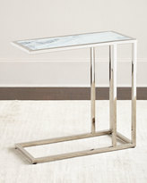 Regina-Andrew Design Etched Marble Side Table