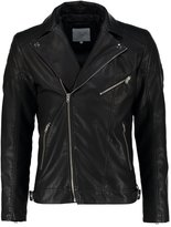 Jack & Jones Jcobenjamin Regular Fit Faux Leather Jacket Black