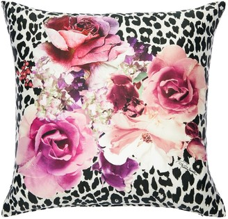 Roberto Cavalli Bouquet Leopard Pillow