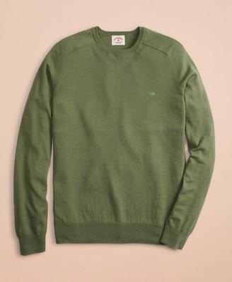 Brooks Brothers Cotton-Cashmere Crewneck Sweater