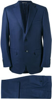 Canali two piece suit - men - Cupro/Wool - 54
