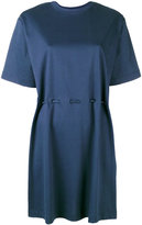 Kenzo lace-up waist T-shirt dress - women - Cotton - S