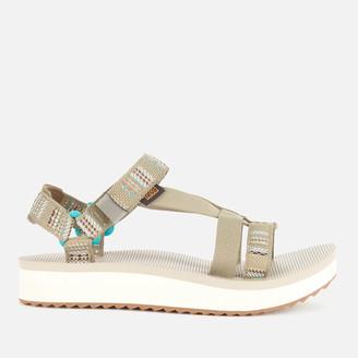 Teva Women's Arivaca Midform Sandals - Aviles Burnt Olive