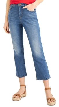 Style&Co. Style & Co Kick-Flare Cropped Jeans, Created for Macy's