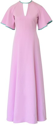 Anna Etter Lilac Max Dress Kleona With An Open Back