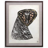 Jonathan Adler Menagerie Baboon Limited Edition Giclée Print