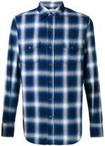 Saint Laurent checked Western shirt - men - Cotton - M